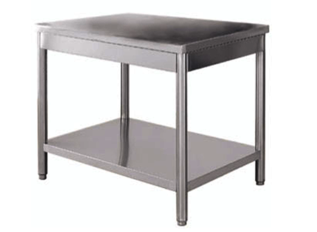 Ustensiles inox - Table centrale