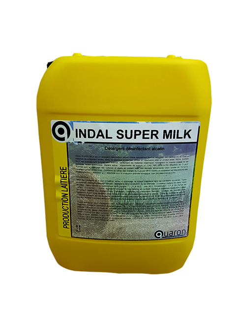 Tunnels de lavage - Circuits -  Alcalin désinfectant - Indal superMilk