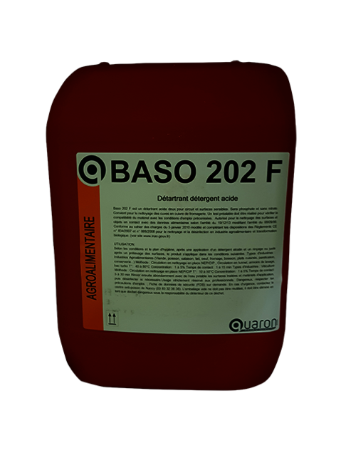 Tunnels de lavage - Circuits - Acide simple - BASO 202 F